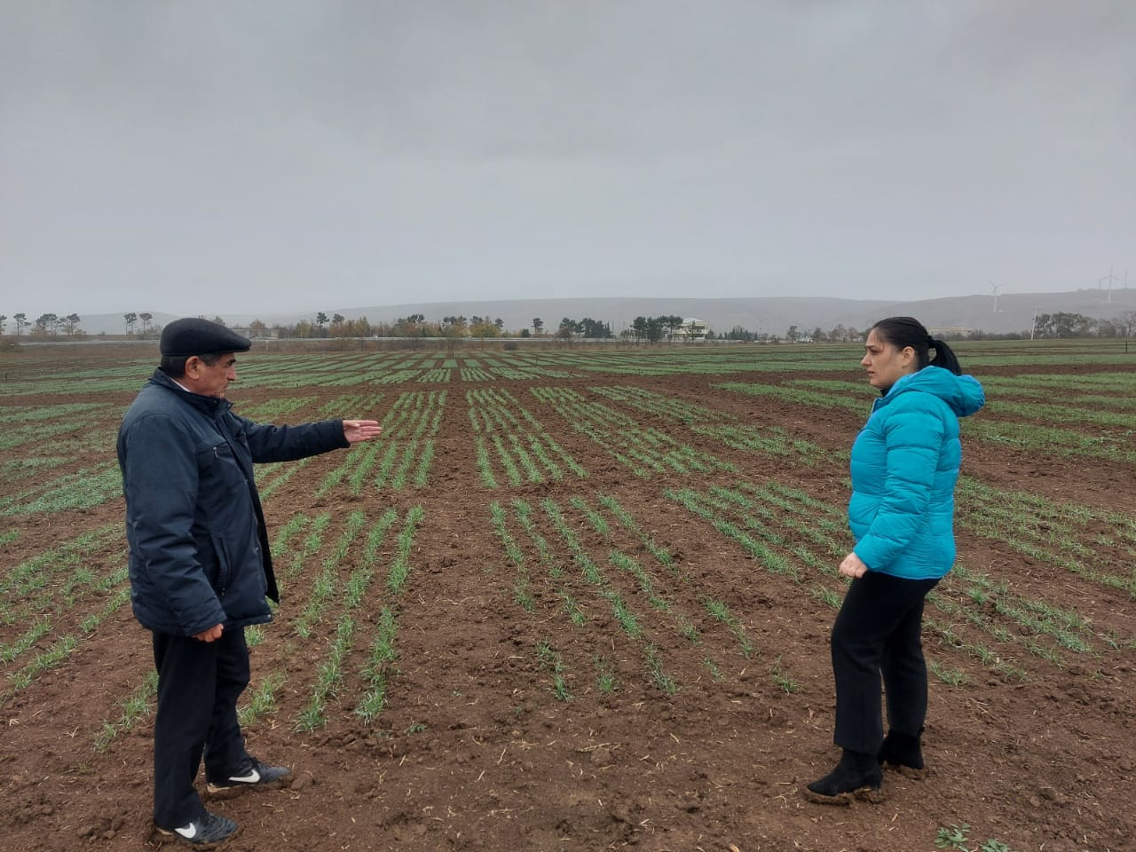 Employees of Institute of Molecular Biology and Biotechnologies were on a scientific trip in Gobustan RES of the Scientific Research Institute of Agriculture of the Ministry of Agriculture