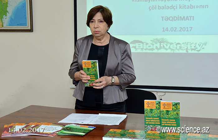 """Field guide for woody plants in Ismayilli region"" presented"