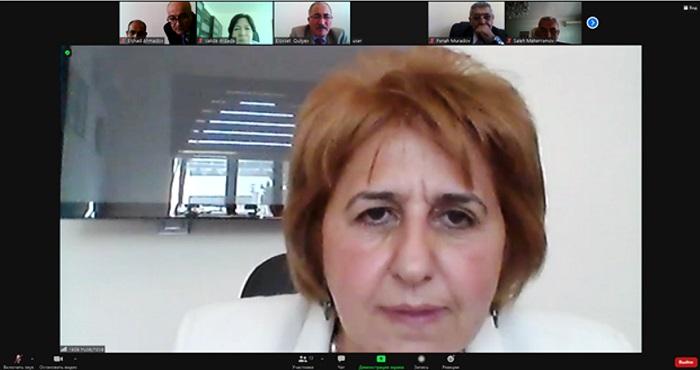 Состоялось онлайн-заседание Ученого совета Отделения биологических и медицинских наук НАНА