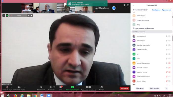 """Səhiyyə nazirinin müavini R.Əliyev: """"Yoluxmaların sayının azalması həyata keçirilən strategiyanın düzgün seçildiyini göstərir"""""""