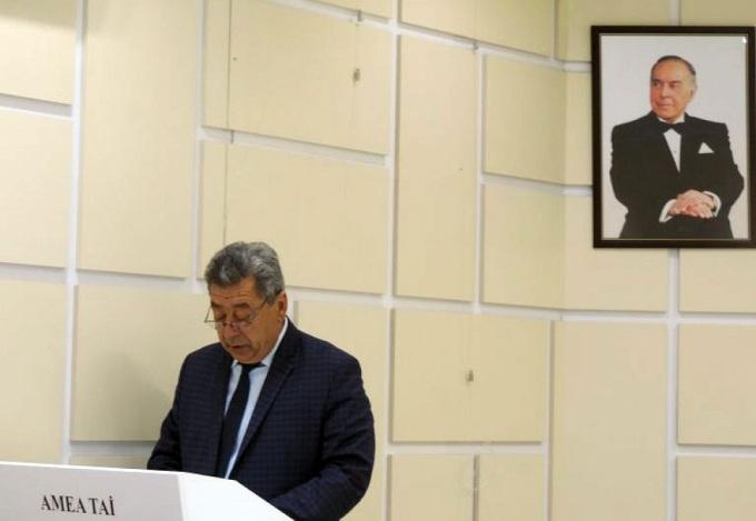 Azərbaycanlı alim beynəlxalq akademiyanın həqiqi üzvü seçilib
