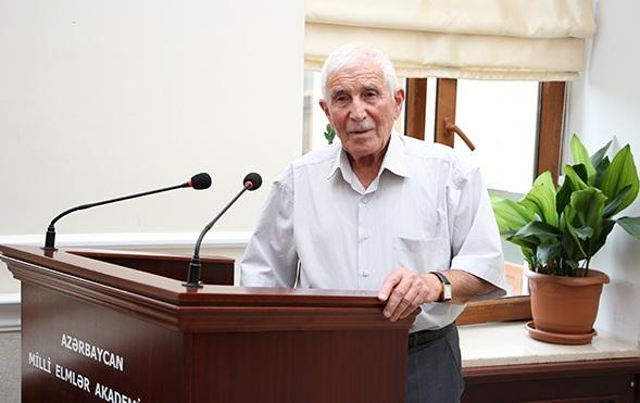 AMEA-nın müxbir üzvü Rafiq Qasımovun 90 yaşı tamam olur