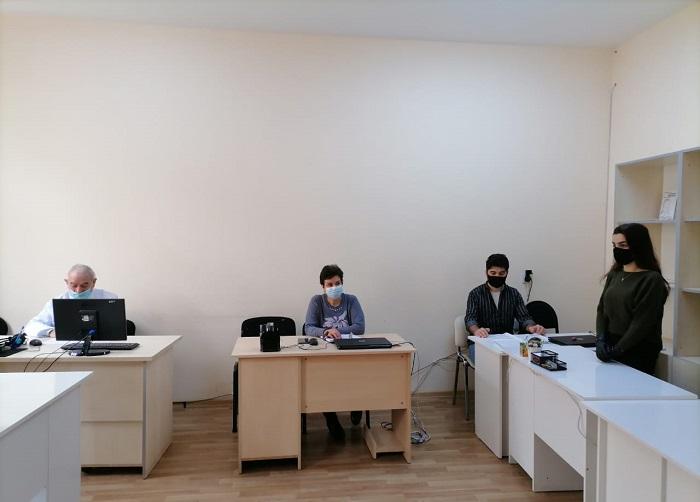 Torpaqşünaslıq və Aqrokimya İnstitutunda magistrantların attestasiyası keçirilib