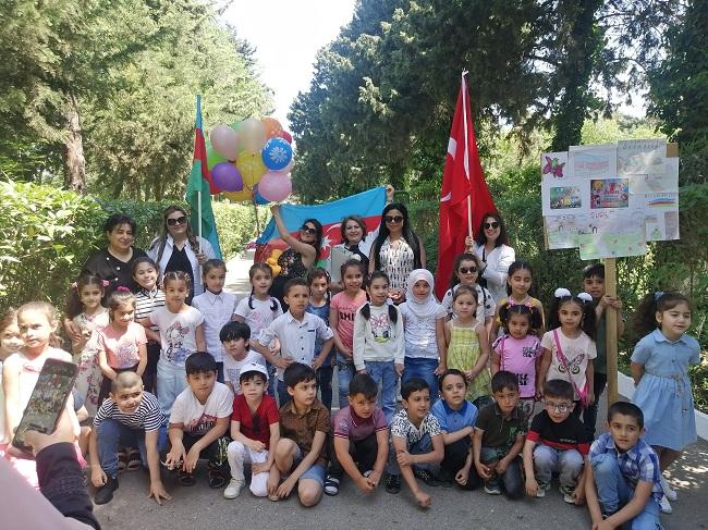 Dendrologiya İnstitutunda Uşaqların Beynəlxalq Müdafiəsi Gününə həsr olunan tədbir keçirilib