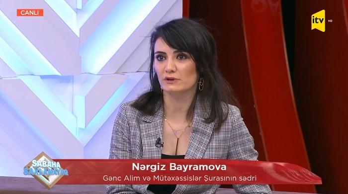"""Gənc alim İctimai TV-nin """"Sabaha saxlamayaq"""" verilişinin qonağı olub"""