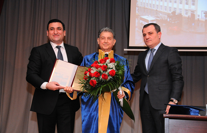 Academician Akif Alizadeh was named ASOIU Honorary Professor