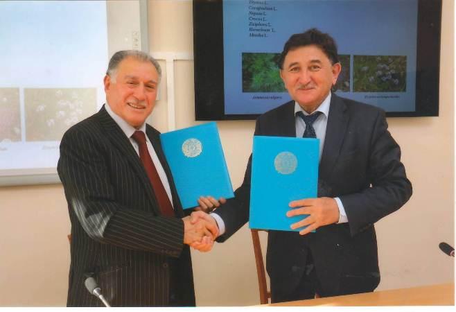 AMEA Botanika İnstitutu Qazaxıstan Respublikası ilə elmi əlaqələri genişləndirir