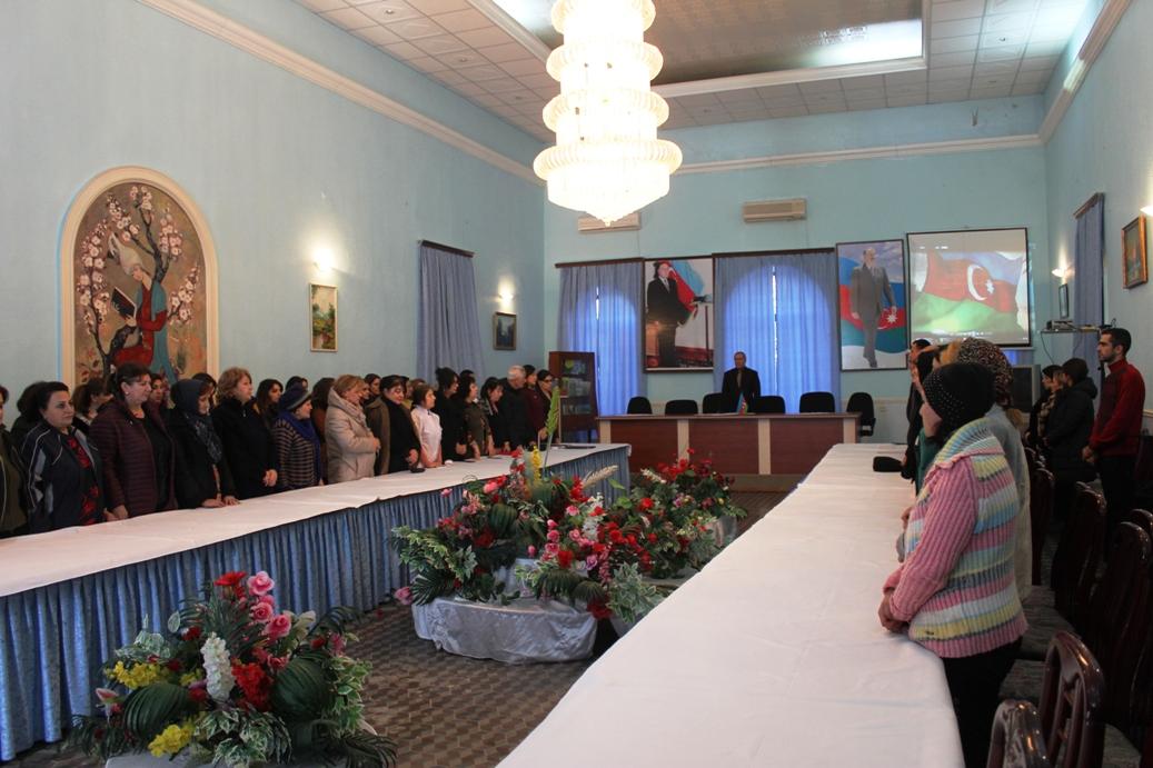 AMEA Dendrologiya İnstitutunda Ulu öndər Heydər Əliyevin anım günü qeyd olunub