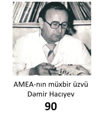 90th anniversary of corresponding member of ANAS Demir Hajiyev