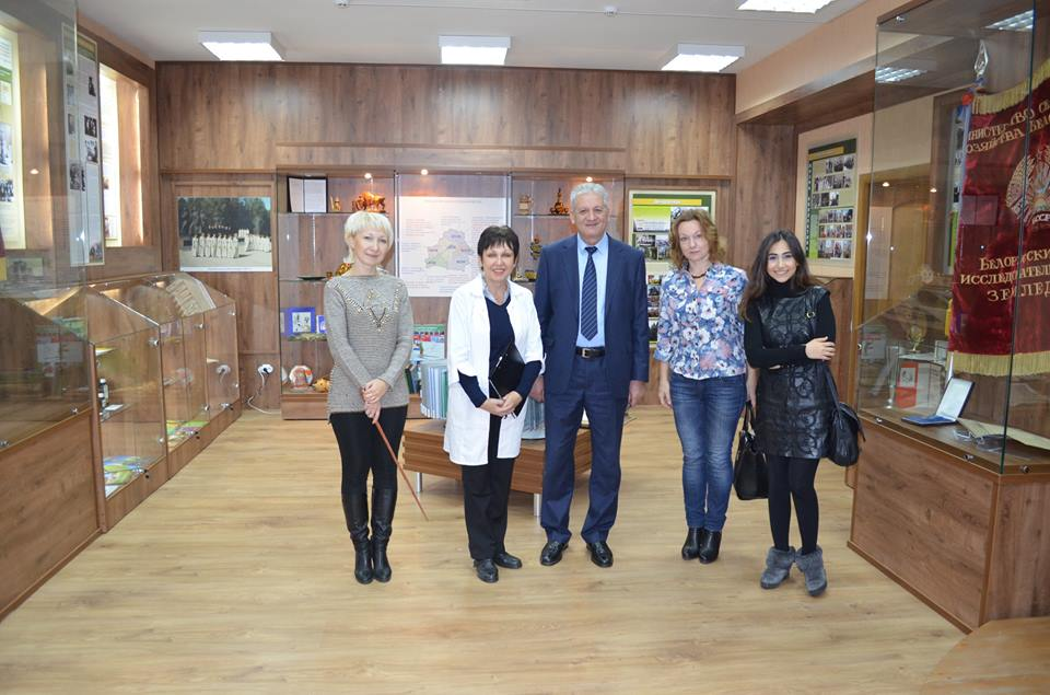 AMEA Genetik Ehtiyatlar İnstitutunun direktoru Belarus Respublikasında elmi ezamiyyətdə olmuşdur