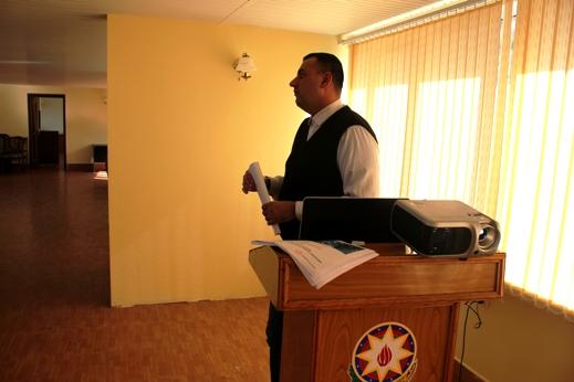"""AMEA Dendrologiya İnstitutunda """"Azərbaycanın qlobal elmi bazaya çıxışı"""" (Azerbaijan's access to Global Science Base) mövzusunda seminar keçirilib"""