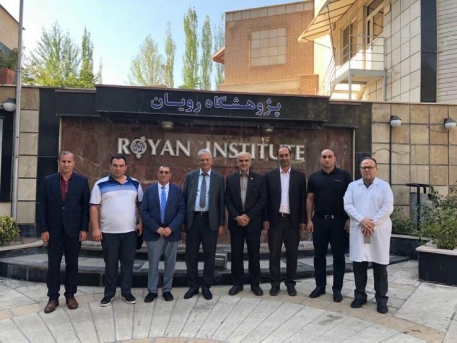 Azərbaycanlı alimlər İranda elmi ezamiyyətdə olublar
