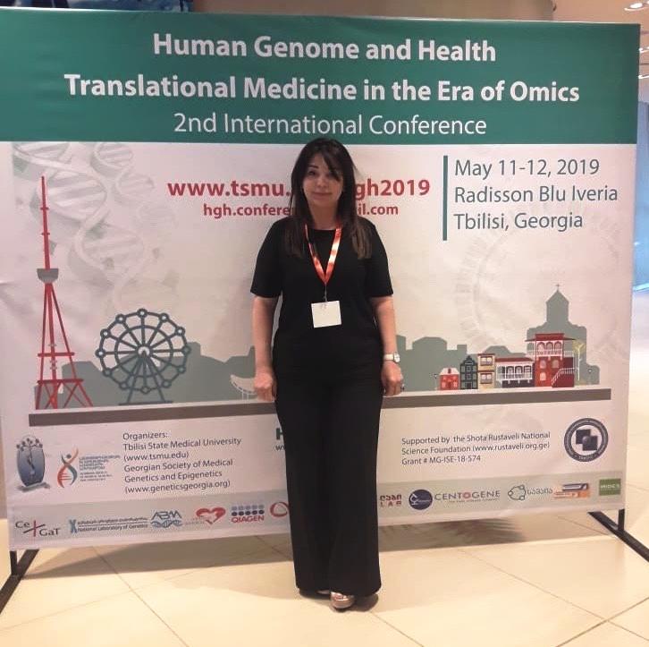 AMEA Genetik Ehtiyatlar İnstitutunun əməkdaşı Gürcüstan Respublikasında keçirilən Beynəlxalq konfransda iştirak etmişdir