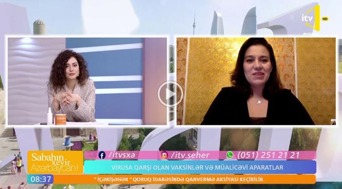MBBİ-nin gənc alimi İctimai TV-də koronavirusa qarşı hazırlanan dərman və vaksinlərdən danışıb