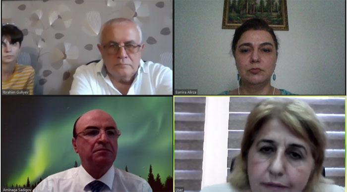 Состоялась онлайн-встреча совместной комиссии в составе ученых НАНА и Университета Монпелье