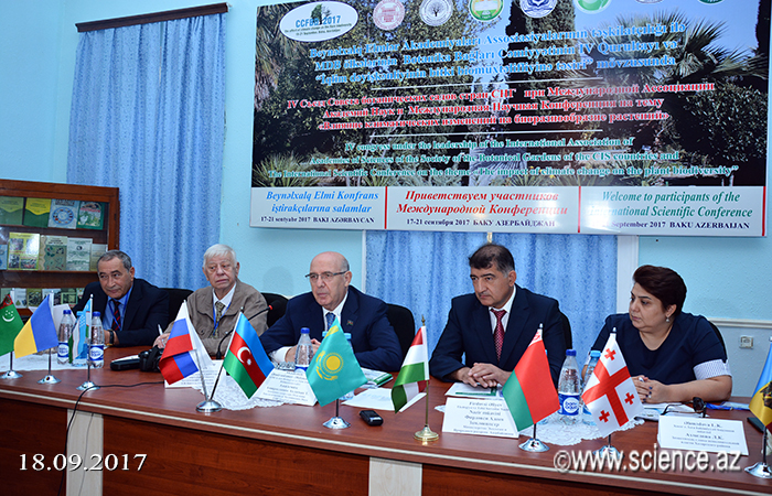 IV Congress of the Council of Botanic Gardens of CIS countries launched