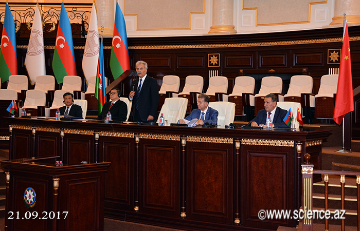 "Scientific-practical conference on ""Azerbaijan-China economic cooperation"""