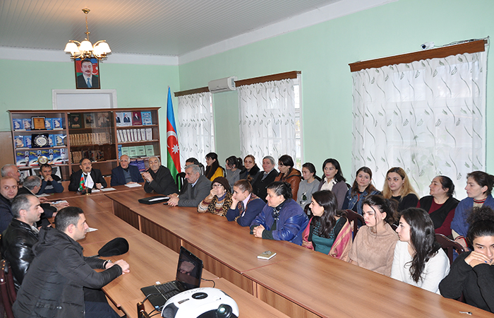 The annual general meeting of ANAS Sheki Regional Scientific Center