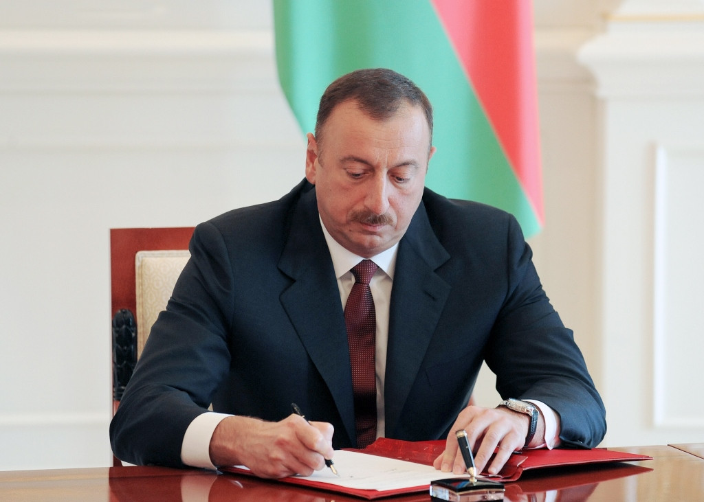 Order of the President of the Republic of Azerbaijan on Awarding Presidential Prizes to Youth in 2019
