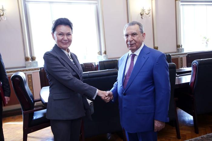 Президент НАНА, академик Рамиз Мехтиев встретился с вице-президентом Российской академии наук